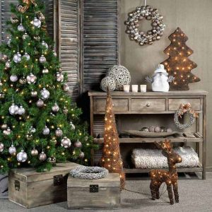 stylish-country-christmas-home-decor